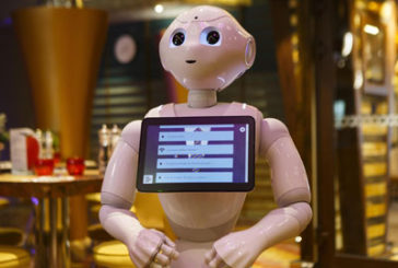 Robot Pepper è la new entry dell'equipaggio di Costa Diadema