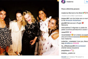 Madonna in vacanza in Puglia e il web impazzisce