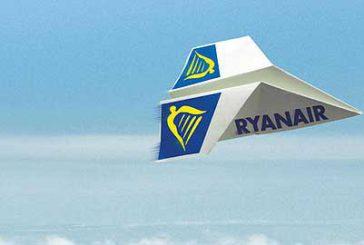 Ryanair, a giugno l'81% dei voli è arrivato in orario