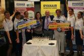 Ryanair premia 2 vincitori del concorso 'Vola e Vinci'