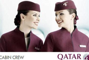 Qatar Airways festeggia volo Pisa-Doha con gelato al gusto d'Oriente