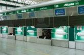 Fiumicino, Alitalia trasferisce tutti check-in al T1 anche per voli intercontinentali