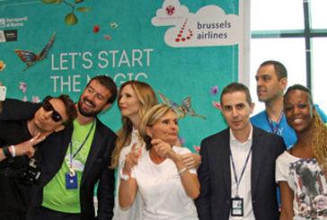 Gate party di Brussel Airlines a Fiumicino per 'Tomorrowland'