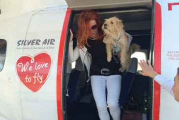 Silver Air compagnia 'Pet Friendly'che vola all'Elba