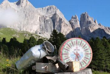 Formaggio protagonista in Val di Fassa con 'Cher de Fascia'
