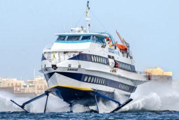 Caos aliscafia Ustica, sindacodenuncia monopolio collegamenti via mare