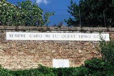 Il terremoto apre faglia nel Colle dell'Infinito   di Giacomo Leopardi