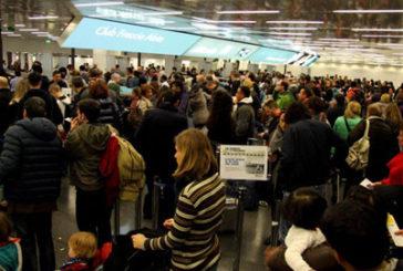 Sciopero nel trasporto aereo: voli cancellati a Fiumicino