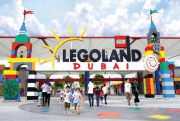 Burj Khalifa riprodotto con mattoncini Lego al parco divertimenti di Dubai