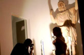 Statua Zeus torna al Salinas dopo il restauro