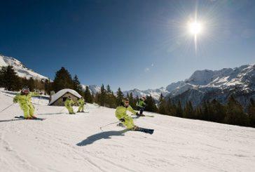 In Valtellina attività sportive sulla neve a contatto con natura