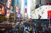 Nuovo look per Times Square, più simile a piazza europea ma hi-tech