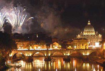 A Roma una grande festa per accogliere l'anno nuovo