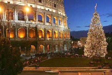 Un video mapping per illuminare il Natale romano