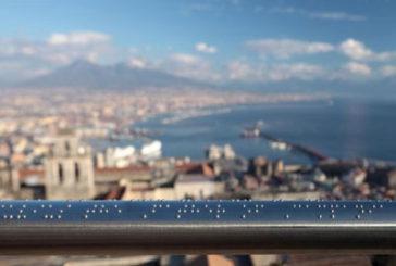 Il panorama di Napoli adesso è fruibile anche ai non vedenti