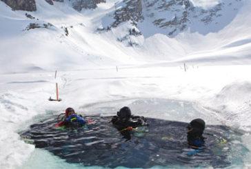 In Trentino una due giorni dedicata alle immersioni nel ghiaccio