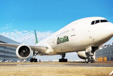 Alitalia, solo 77 voli cancellati per stop Enav: riprotetto 86% pax