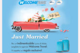 Parte la campagna 'Just married' di Welcome Travel