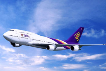 Thai Airways porta a cinque le frequenze tra Malpensa e Bangkok