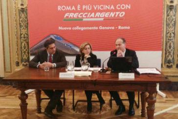 Trenitalia: Genova-Roma in 4 ore con il nuovo Frecciargento