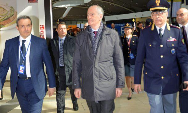 Visita a Parma del Capo della Polizia Gabrielli