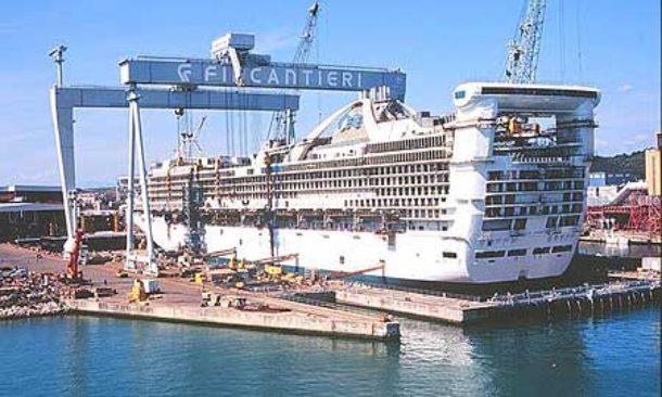Commessa da 5 miliardi per Fincantieri per 6 navi da crociera