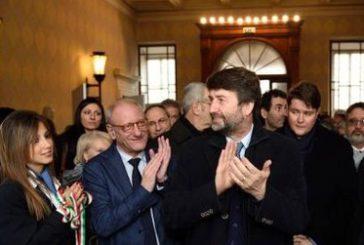 Franceschini in visita a d Osimo e Ancona. In arrivo 4 mln per rilancio turistico