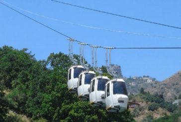 Taormina, nel 2018 la funivia sfiora il milione di passeggeri