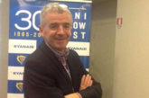 O'Leary: Alitalia deve puntare sul lungo raggio, noi possiamo aiutarli sui voli nazionali