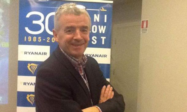 O'Leary di Ryanair: