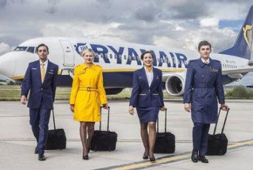 Ryanair: in autunno partirà il volo Catania-Francoforte