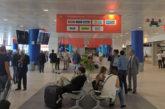 Sciopero lavoratori pulizia all'aeroporto di Palermo