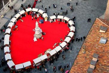 Verona capitale dell'amore con 13^ edizione di 'Verona in Love'