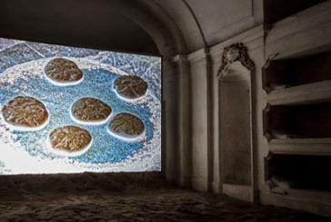Palermo, una cripta ritrovata ospita istallazione artistica