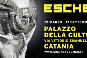 A Catania in mostra le opere di Escher e il suo viaggio in Sicilia