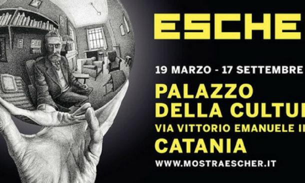 A catania in mostra le opere di escher e il suo viaggio in for Escher mostra catania