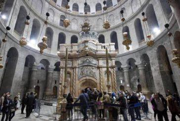 Concluso il restauro, aGerusalemme riapre Edicola Santo Sepolcro