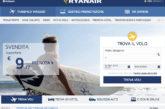 Ryanair, dalle 19.30 sito e app mobile in manutenzione