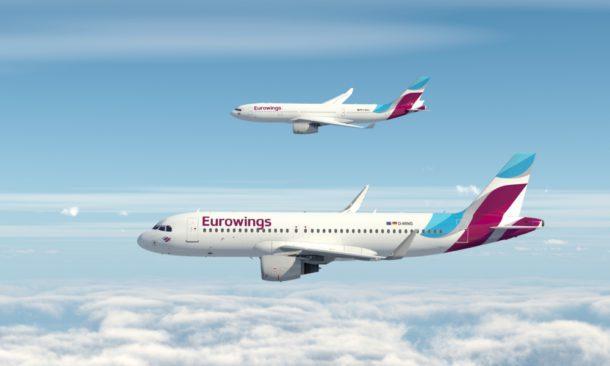 Eurowings: la nuova destinazione ora la scelgono i passeggeri