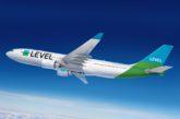 Da oggi i biglietti low cost di lungo raggio di LEVEL in vendita anche su vueling.com