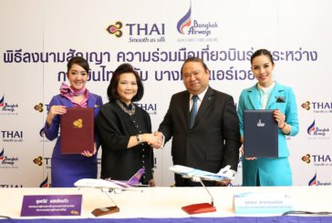 Siglato accordo di code share tra THAI e Bangkok Airways