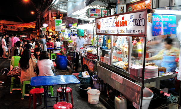 Bangkok vieta 'street food', non igienico