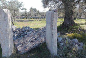 Vandali danneggiano dolmen di Carpignano