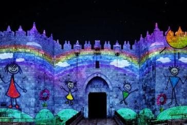 Il fascino di Gerusalemme esaltato dal Festival delle Luci