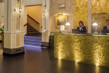 Nuova hall per l'Hotel Bernini di Firenze. Tra le novità anche tour in mongolfiera