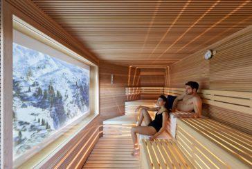 Il cinema si sposa con le terme nella sauna firmata QC Terme Dolomiti