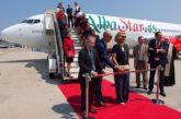 Il nuovo Boeing di Albastar si chiama 'Eden' in omaggio al TO