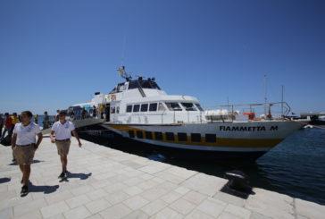 Dall'8 luglio torna l'aliscafo fra Trieste e Istria