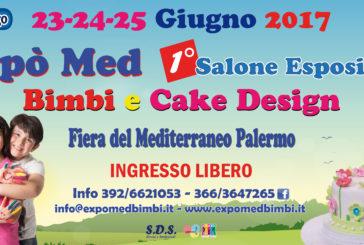 Servizi per le famiglie di scena alla Fiera del Mediterraneo con 'Bimbi & Cake Design'