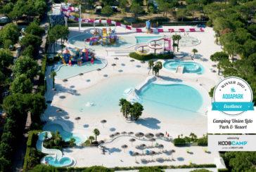 Il Camping Union Lido Park & Resort guida la top 10 Campeggi e Villaggi con Aquapark